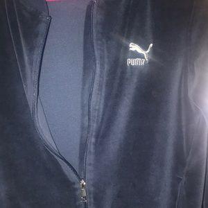 Puma Jackets & Coats - BRAND NEW PUMA VELVET SWEATER